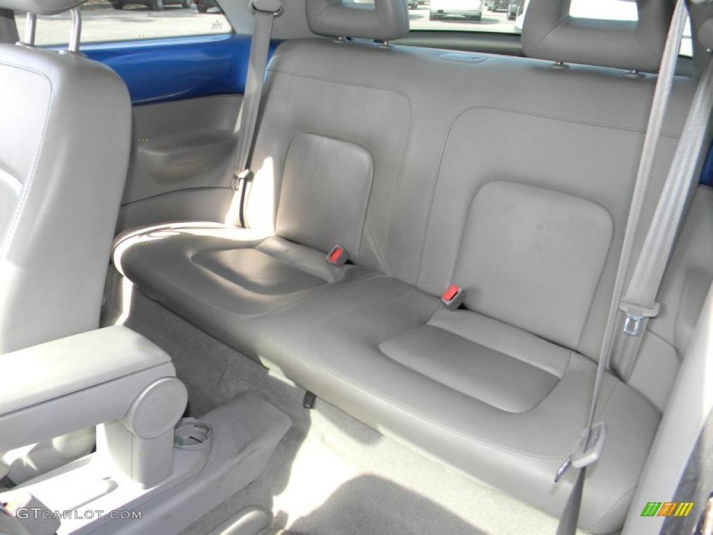 Light Grey Interior 2001 Volkswagen New Beetle Gls Coupe Photo 45760267