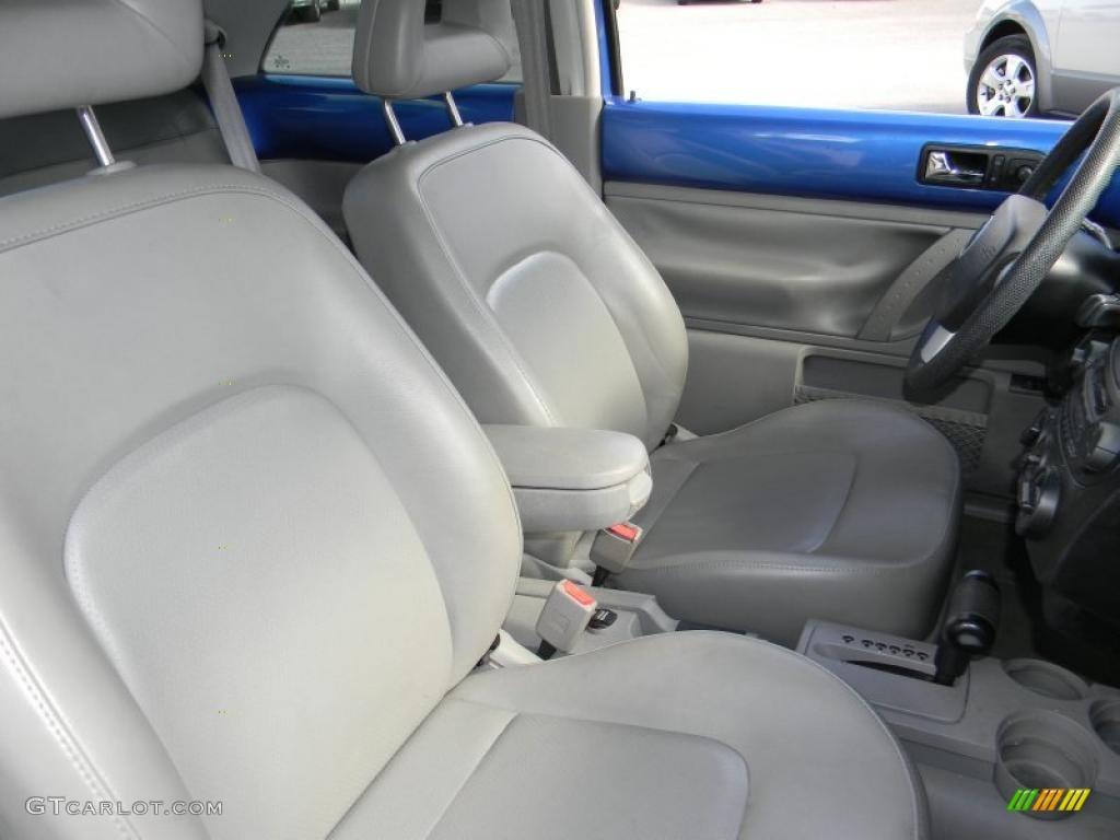 Light Grey Interior 2001 Volkswagen New Beetle Gls Coupe Photo 45760307
