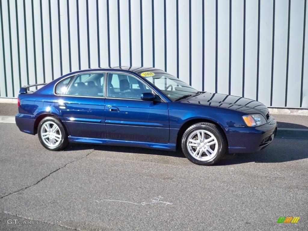 2004 Mystic Blue Pearl Subaru Legacy 2 5 Gt Sedan 4559854