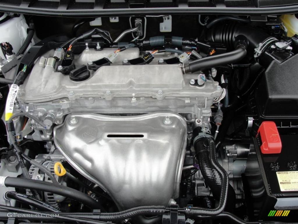 2011 Scion Tc Standard Tc Model 2 5 Liter Dohc 16 Valve Dual Vvt I 4 Cylinder Engine Photo