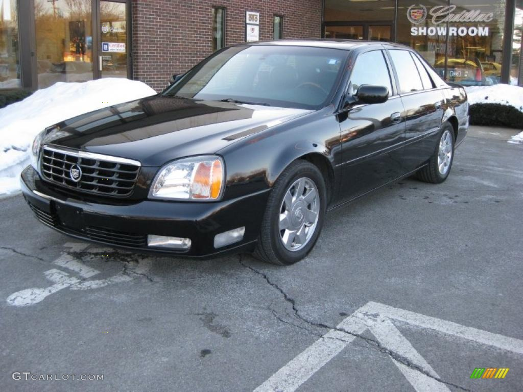 sable black 2002 cadillac deville dts exterior photo. Cars Review. Best American Auto & Cars Review