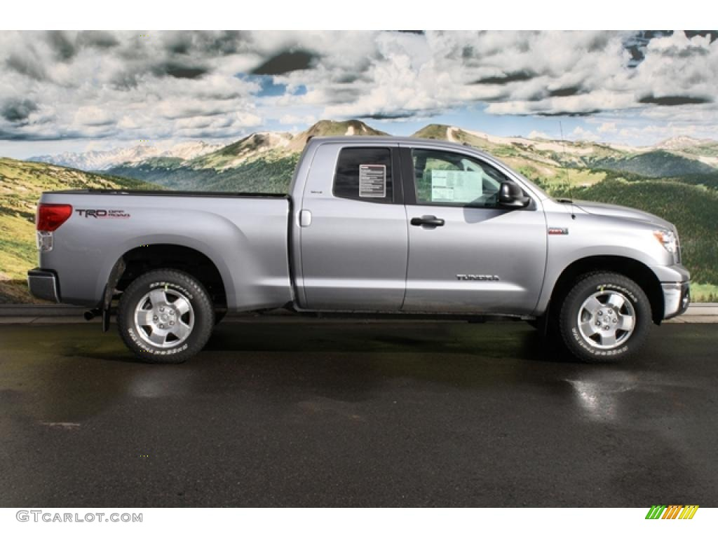 2011 Tundra TRD Double Cab 4x4 - Silver Sky Metallic / Graphite Gray photo #2