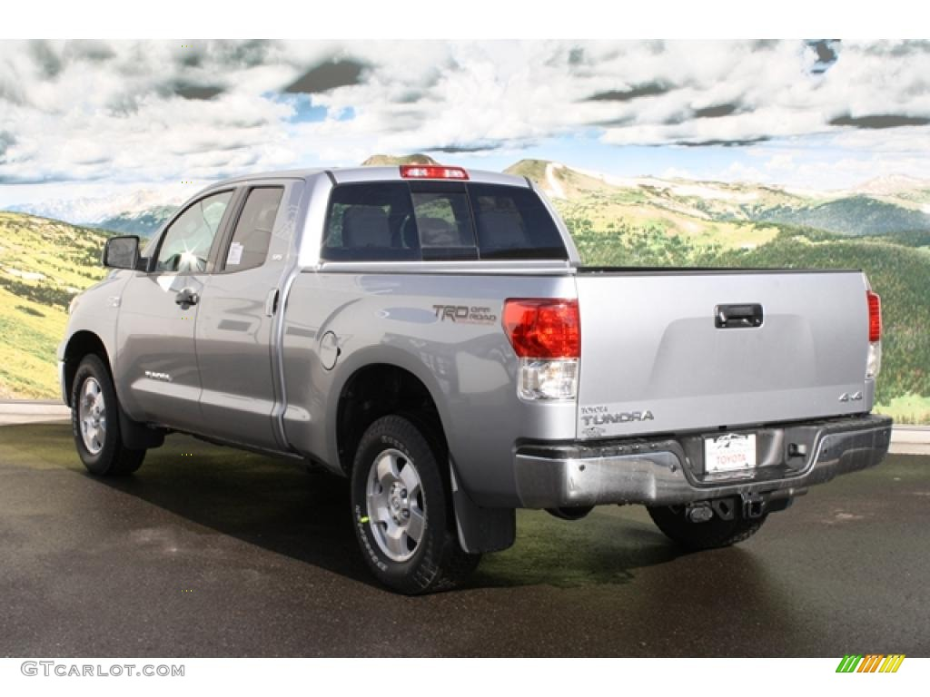 2011 Tundra TRD Double Cab 4x4 - Silver Sky Metallic / Graphite Gray photo #3