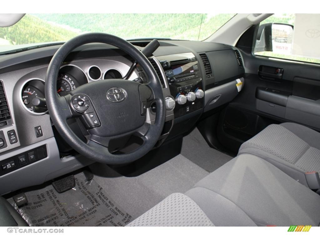 2011 Tundra TRD Double Cab 4x4 - Silver Sky Metallic / Graphite Gray photo #4