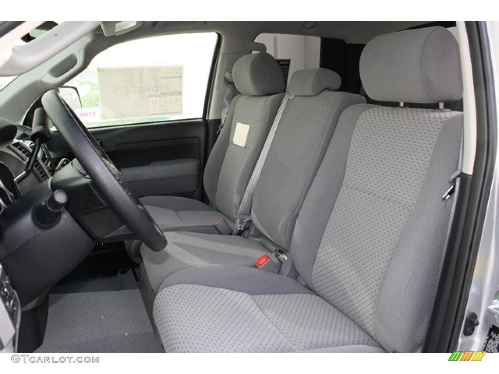 2011 Tundra TRD Double Cab 4x4 - Silver Sky Metallic / Graphite Gray photo #5