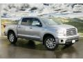 2011 Silver Sky Metallic Toyota Tundra Platinum CrewMax 4x4  photo #1