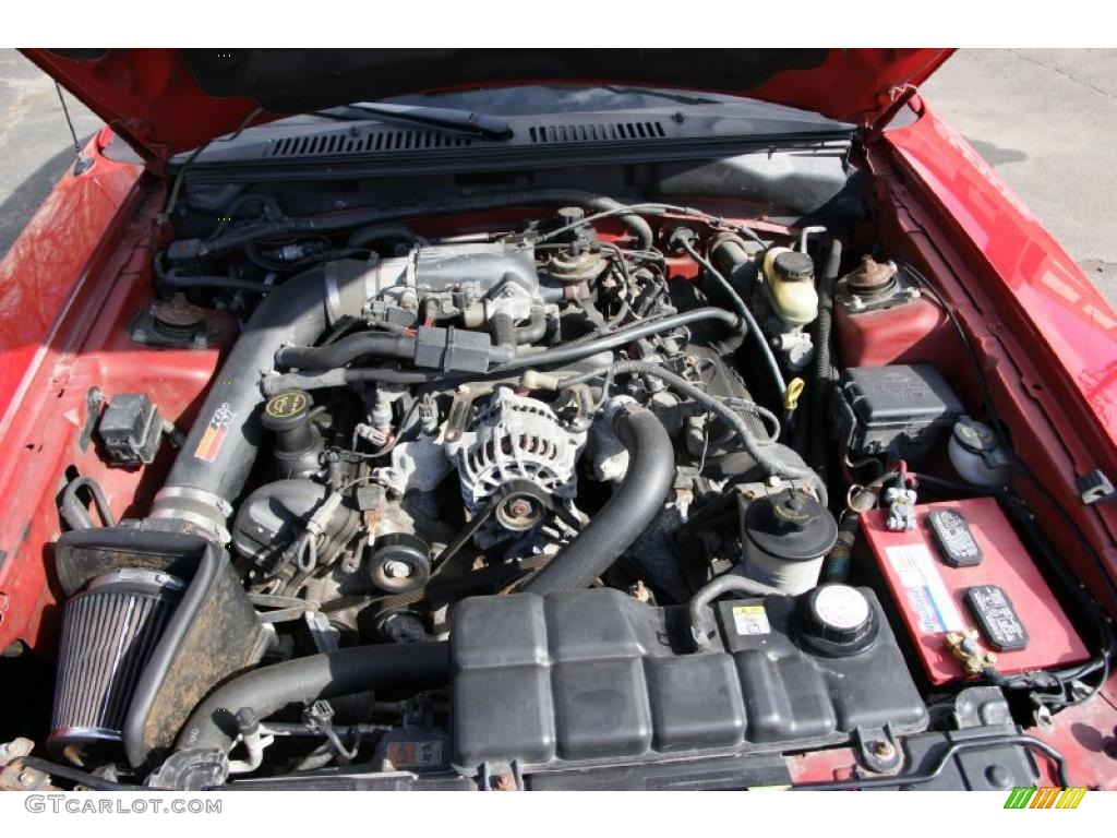 2002 Ford Mustang GT Coupe 4.6 Liter SOHC 16-Valve V8 Engine Photo #45799695
