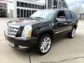 Front 3/4 View of 2011 Escalade Platinum