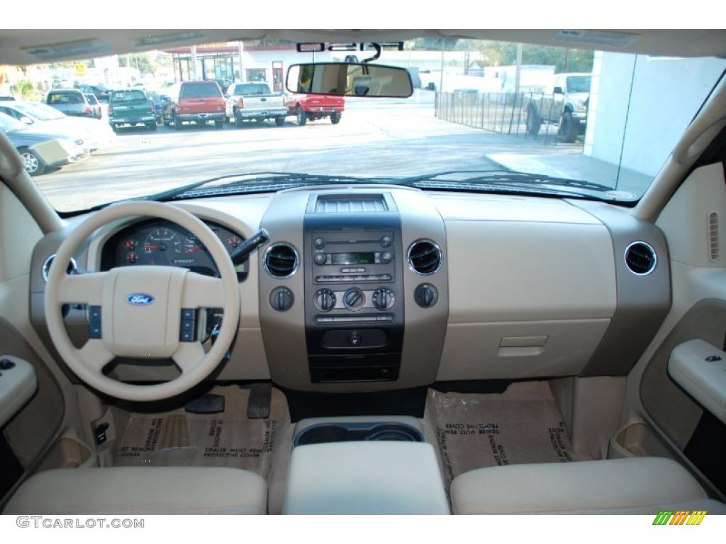 2004 Ford F150 Xlt Supercab 4x4 Tan Dashboard Photo