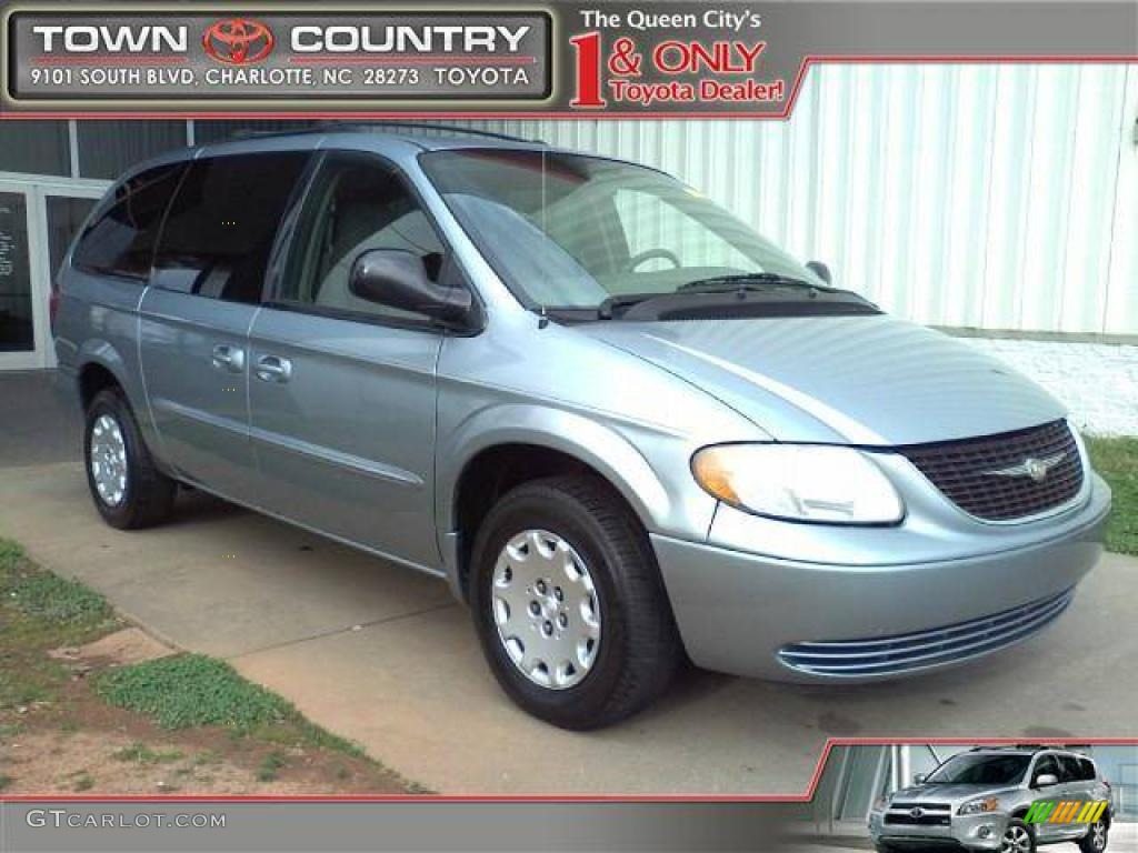 Butane Blue Pearl Chrysler Town & Country