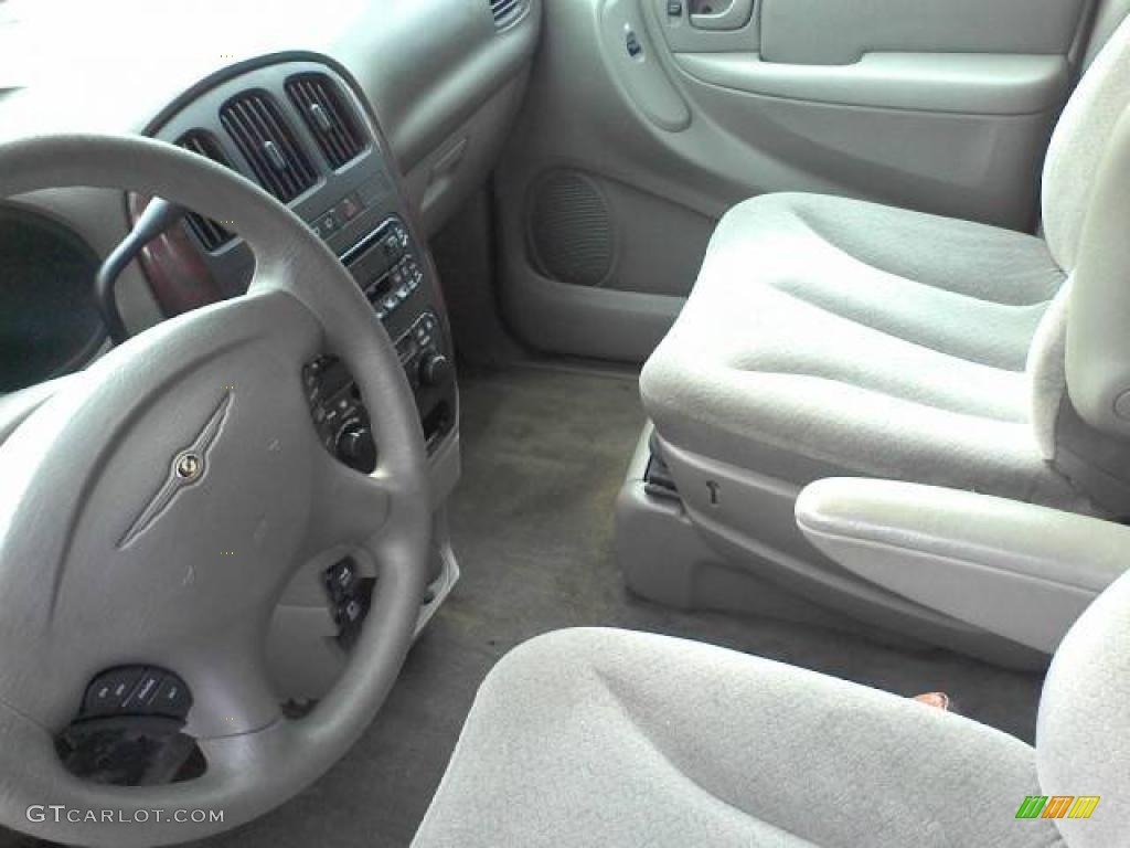 2003 Town & Country LX - Butane Blue Pearl / Gray photo #13