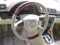 Beige 2008 Audi A4 Interiors