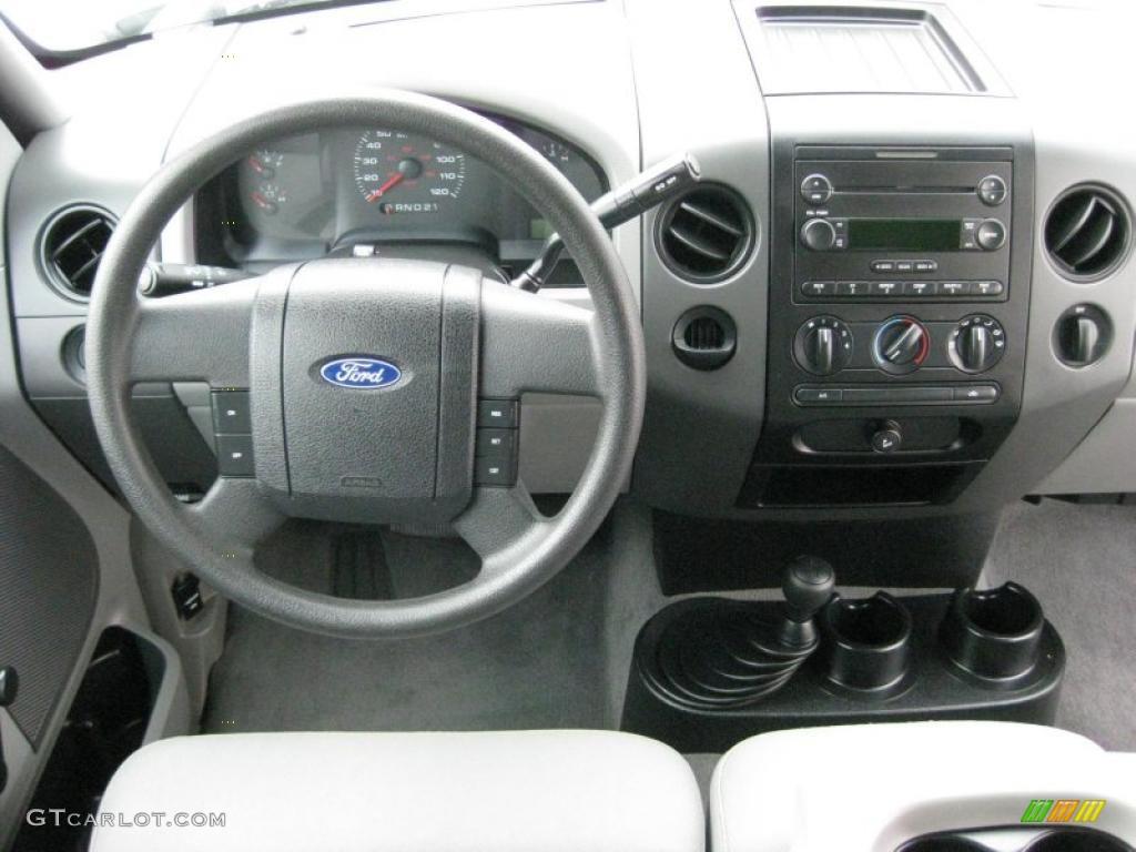 2004 Ford F150 Stx Supercab 4x4 Black Medium Flint Dashboard Photo F 150 45814549