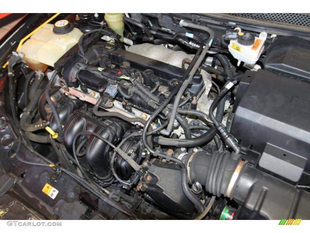 2005 Focus ZX4 S Sedan - Pitch Black / Dark Flint/Light Flint photo #40