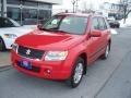 Racy Red 2007 Suzuki Grand Vitara Luxury 4x4