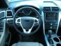 Medium Light Stone Dashboard Photo for 2011 Ford Explorer #45822705