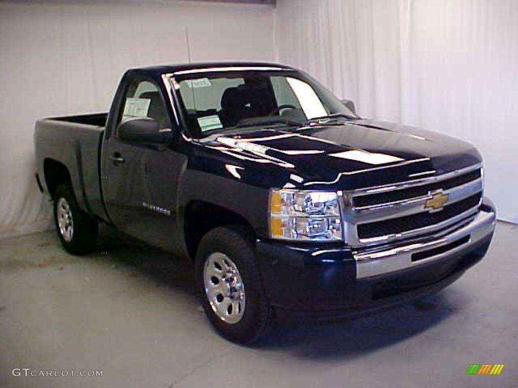 2011 Silverado 1500 Regular Cab - Imperial Blue Metallic / Dark Titanium photo #1