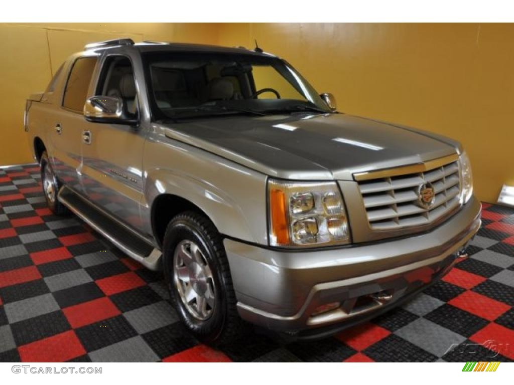 2002 silver sand cadillac escalade ext awd 45770598 photo. Black Bedroom Furniture Sets. Home Design Ideas