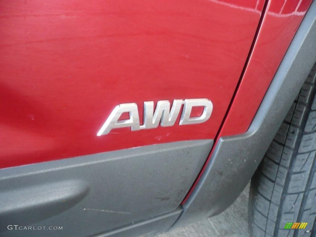 2011 Sorento LX AWD - Spicy Red / Beige photo #13
