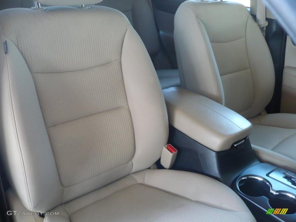 2011 Sorento LX AWD - Spicy Red / Beige photo #14