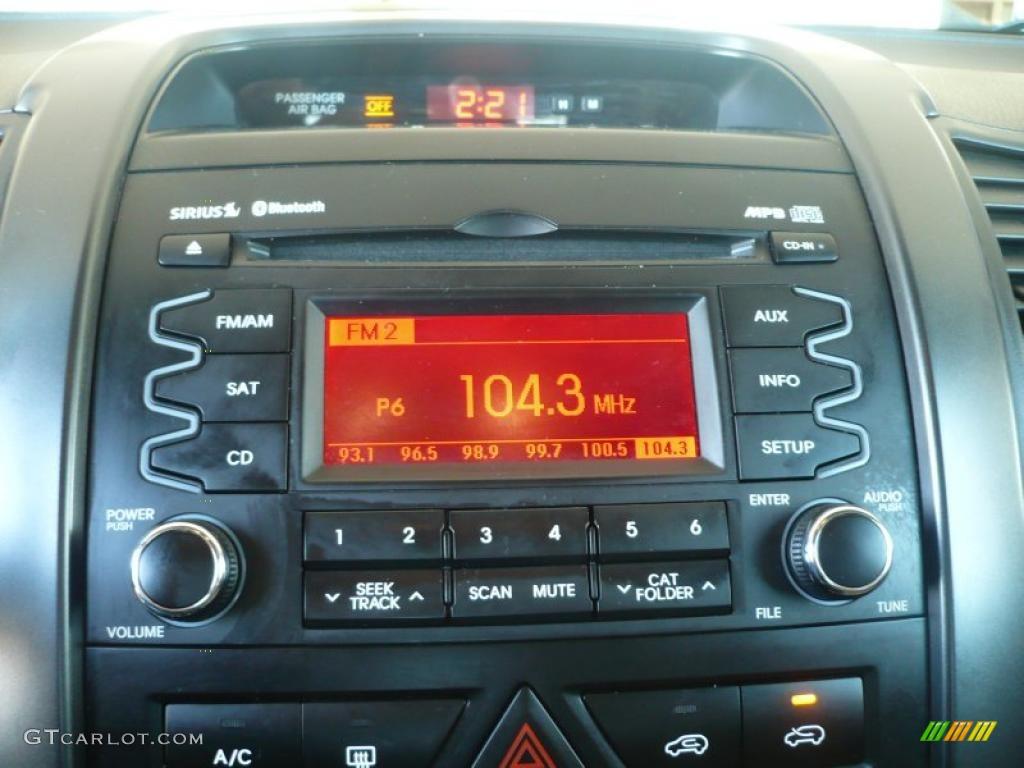 2011 Sorento LX AWD - Spicy Red / Beige photo #25