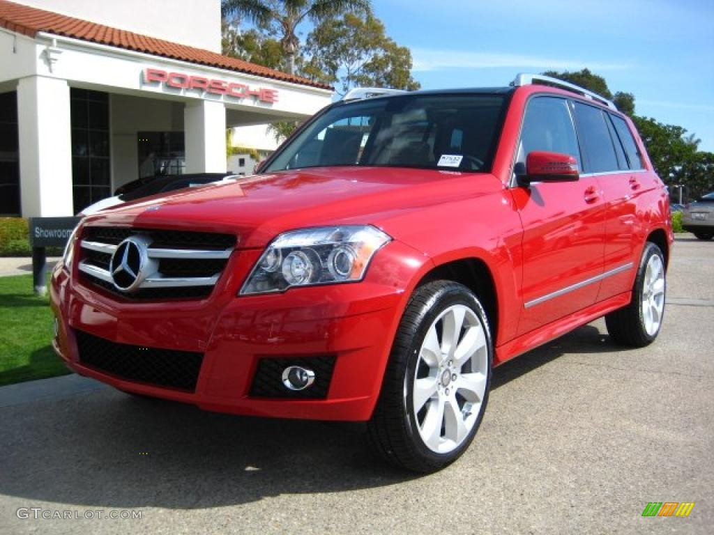 2011 Mars Red Mercedes Benz Glk 350 45770103 Gtcarlot