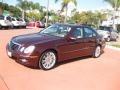 Barolo Red Metallic 2008 Mercedes-Benz E Gallery