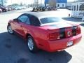 2007 Torch Red Ford Mustang V6 Premium Convertible  photo #7