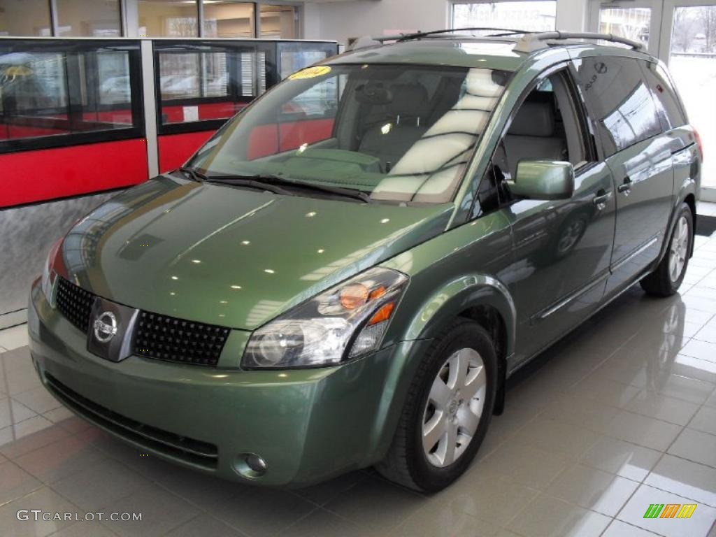 2004 green tea metallic nissan quest 3.5 se #45648985 | gtcarlot
