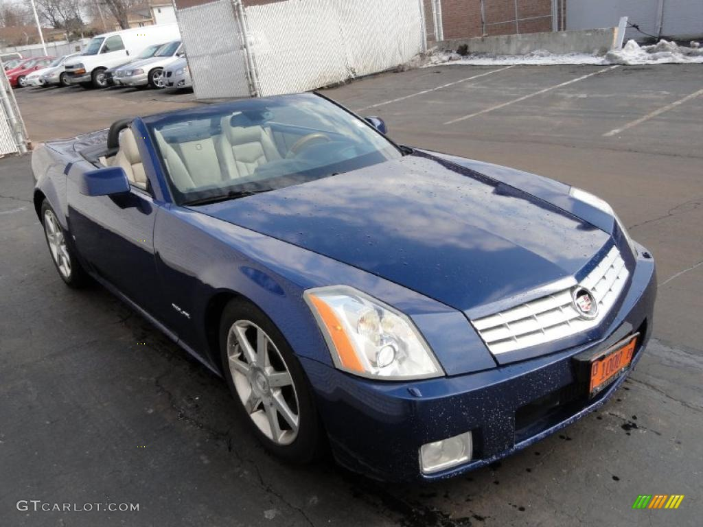 xenon blue 2006 cadillac xlr roadster exterior photo. Black Bedroom Furniture Sets. Home Design Ideas