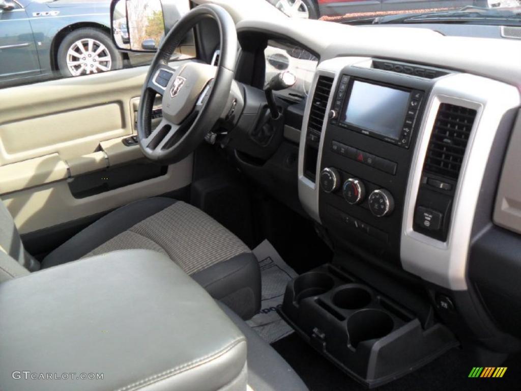 2010 Dodge Ram 3500 Big Horn Edition Crew Cab Dually Dark Slate/Medium Graystone Dashboard Photo #45852805