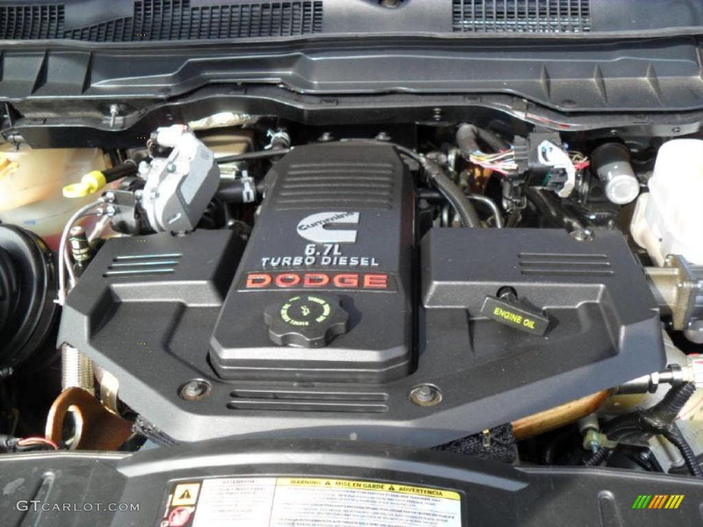 2010 Dodge Ram 3500 Big Horn Edition Crew Cab Dually 6.7 Liter OHV 24-Valve Cummins Turbo-Diesel Inline 6 Cylinder Engine Photo #45852817