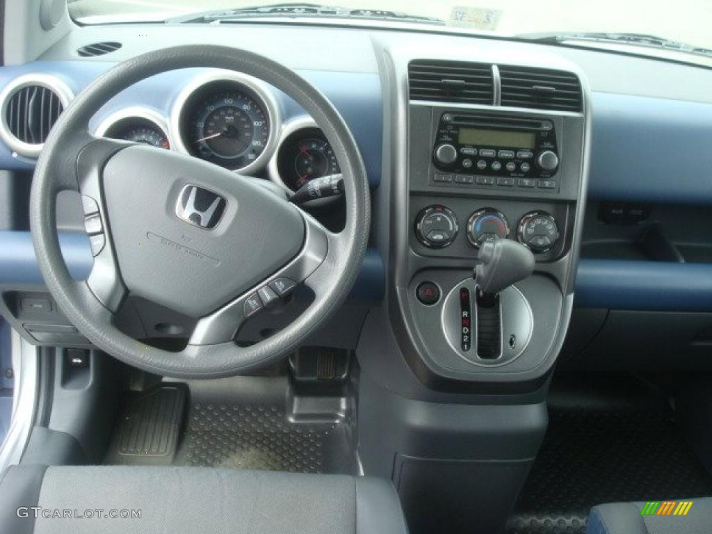 2006 honda element ex awd gray blue dashboard photo. Black Bedroom Furniture Sets. Home Design Ideas