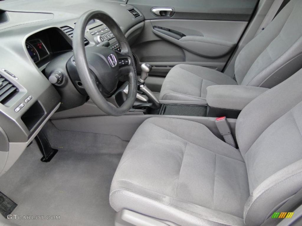 Delightful 2008 Honda Civic LX Sedan Interior Photo #45860254
