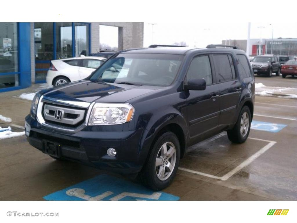 Bali Blue Pearl 2009 Honda Pilot Ex Exterior Photo