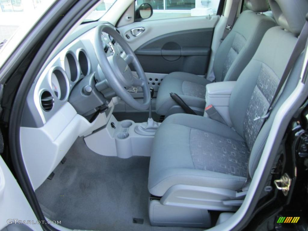 pastel slate gray interior 2007 chrysler pt cruiser. Black Bedroom Furniture Sets. Home Design Ideas