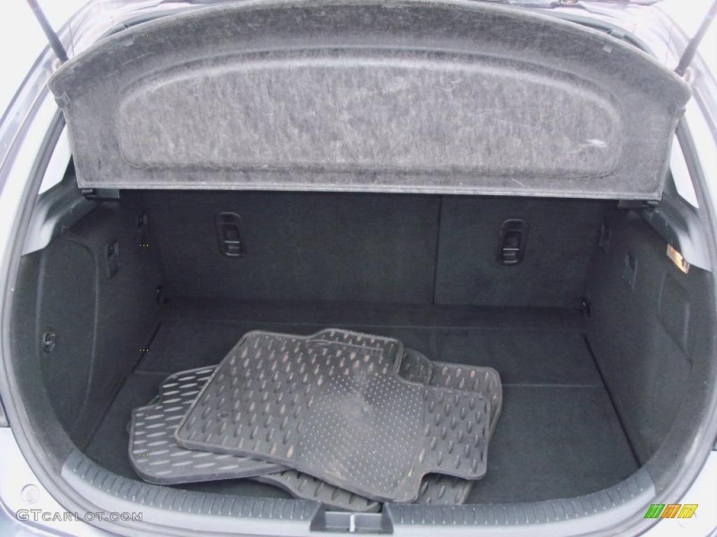 2007 mazda 3 trunk release