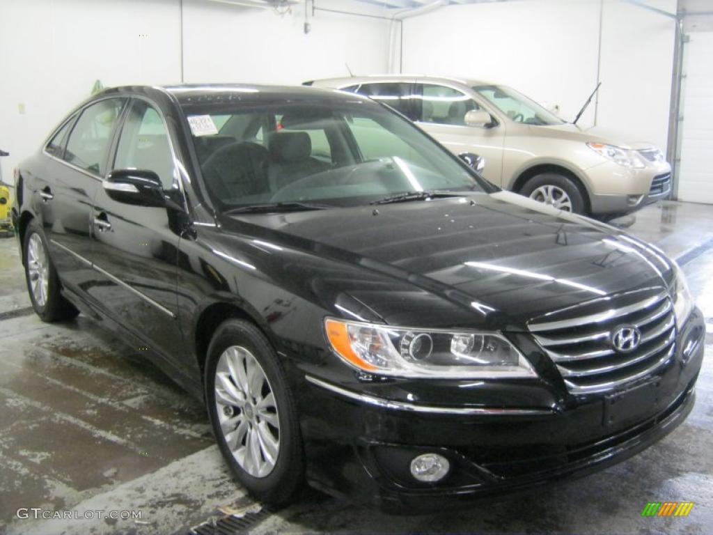 2011 Black Onyx Pearl Hyundai Azera Limited 45649407