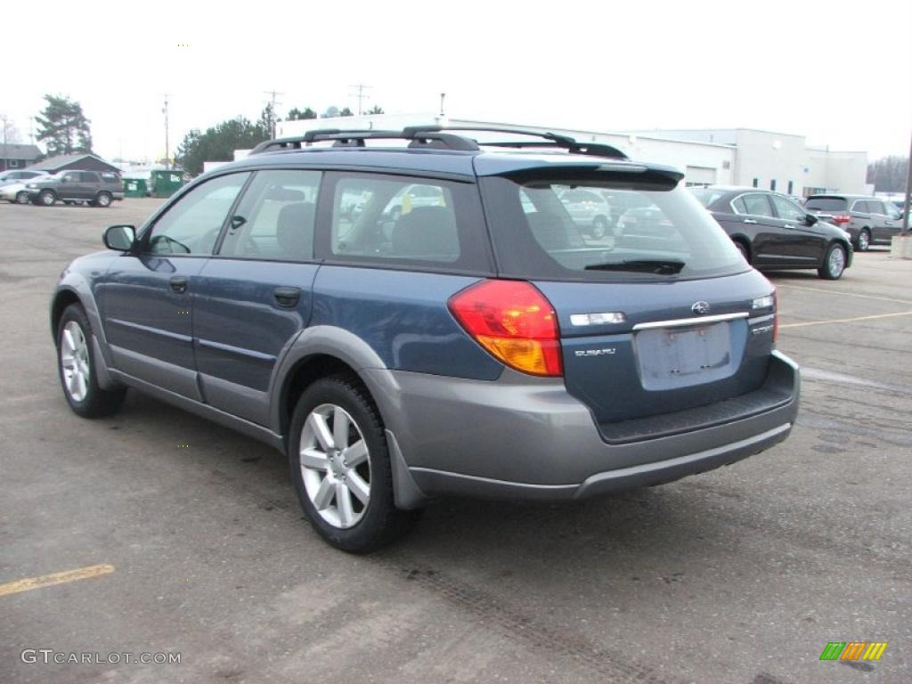 Atlantic Blue Pearl 2006 Subaru Outback 2 5i Wagon