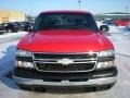 2006 Victory Red Chevrolet Silverado 1500 Work Truck Regular Cab  photo #2