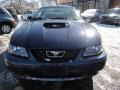 2001 True Blue Metallic Ford Mustang GT Coupe  photo #2