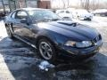 2001 True Blue Metallic Ford Mustang GT Coupe  photo #7