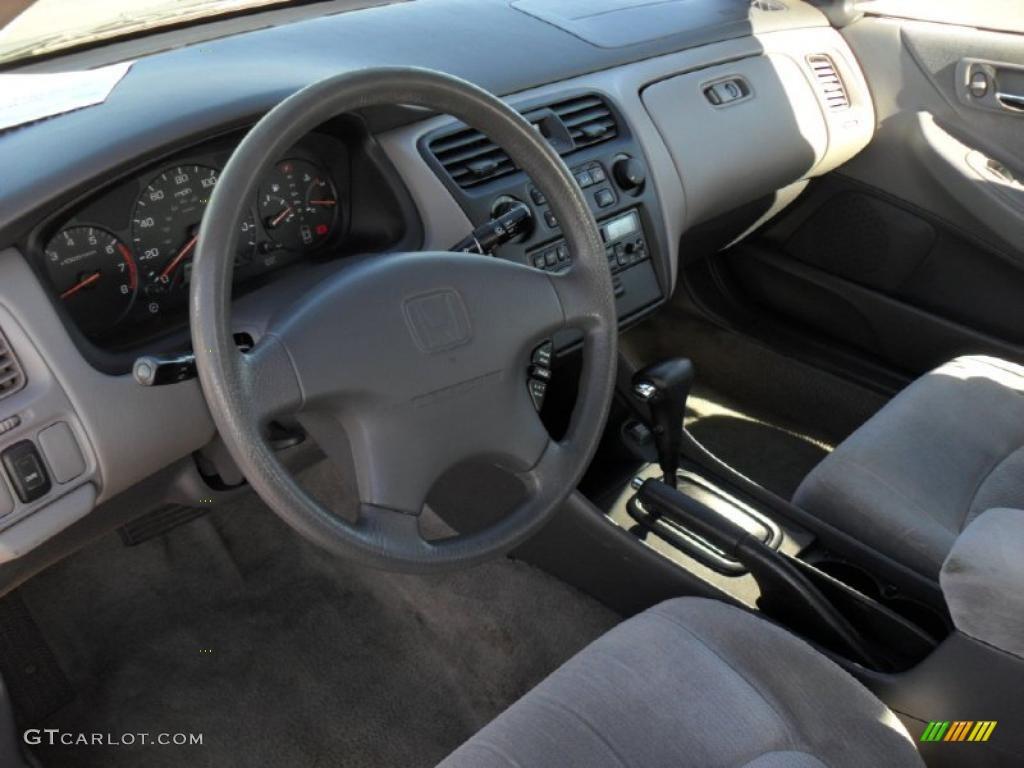 gray interior 1999 honda accord lx sedan photo 45892302. Black Bedroom Furniture Sets. Home Design Ideas