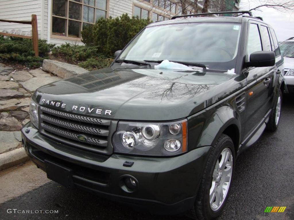 2006 tonga green pearl land rover range rover sport hse. Black Bedroom Furniture Sets. Home Design Ideas