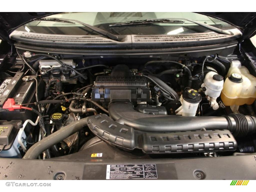 2005 ford f150 xlt supercab 4x4 5 4 liter sohc 24 valve triton v8 engine photo 45902693. Black Bedroom Furniture Sets. Home Design Ideas