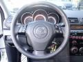 Black 2008 Mazda MAZDA3 MAZDASPEED Grand Touring Steering Wheel