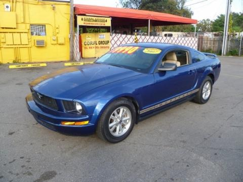 2007 Ford Mustang V6 Deluxe Coupe Data Info And Specs