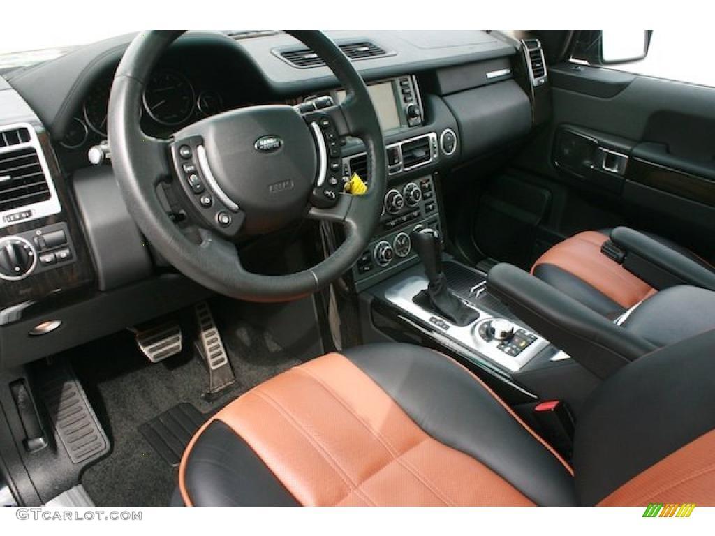westminster jet black tan interior 2008 land rover range. Black Bedroom Furniture Sets. Home Design Ideas