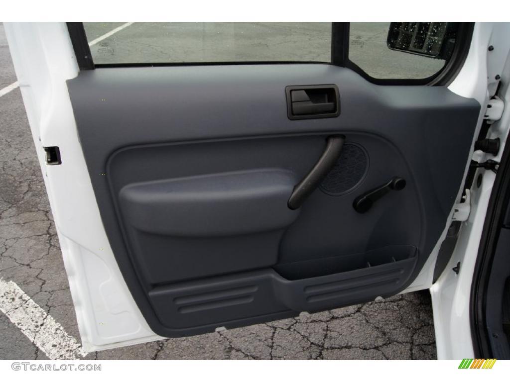 2010 Ford Transit Connect Xl Cargo Van Dark Gray Door Panel Photo 45914508
