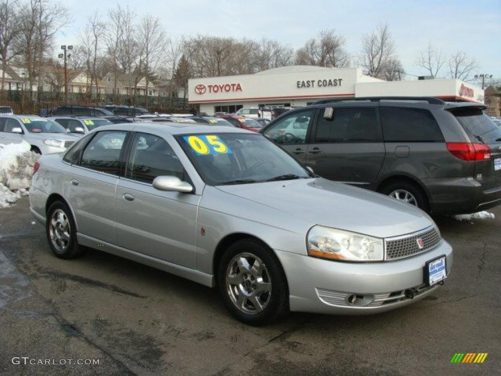 2005 Silver Platinum Saturn L Series L300 Sedan  45770345